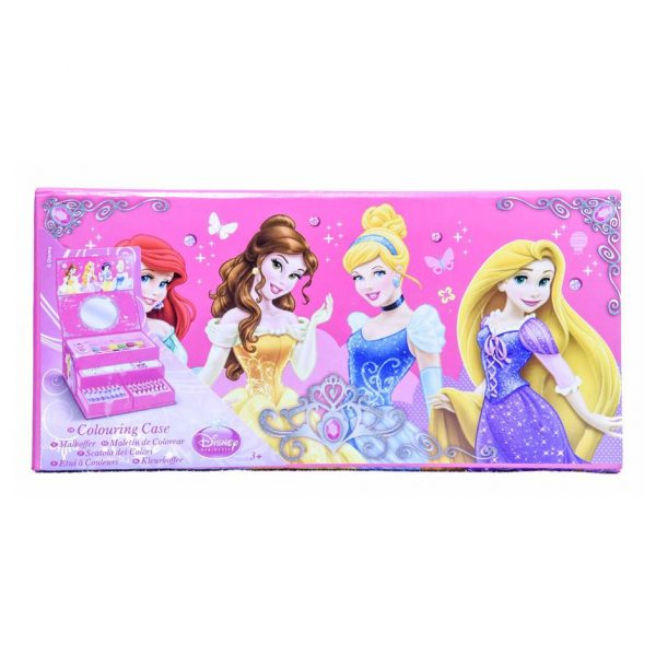 Disney Princess Colouring Case