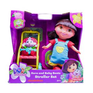 Dora and Baby Boots Stroller Set