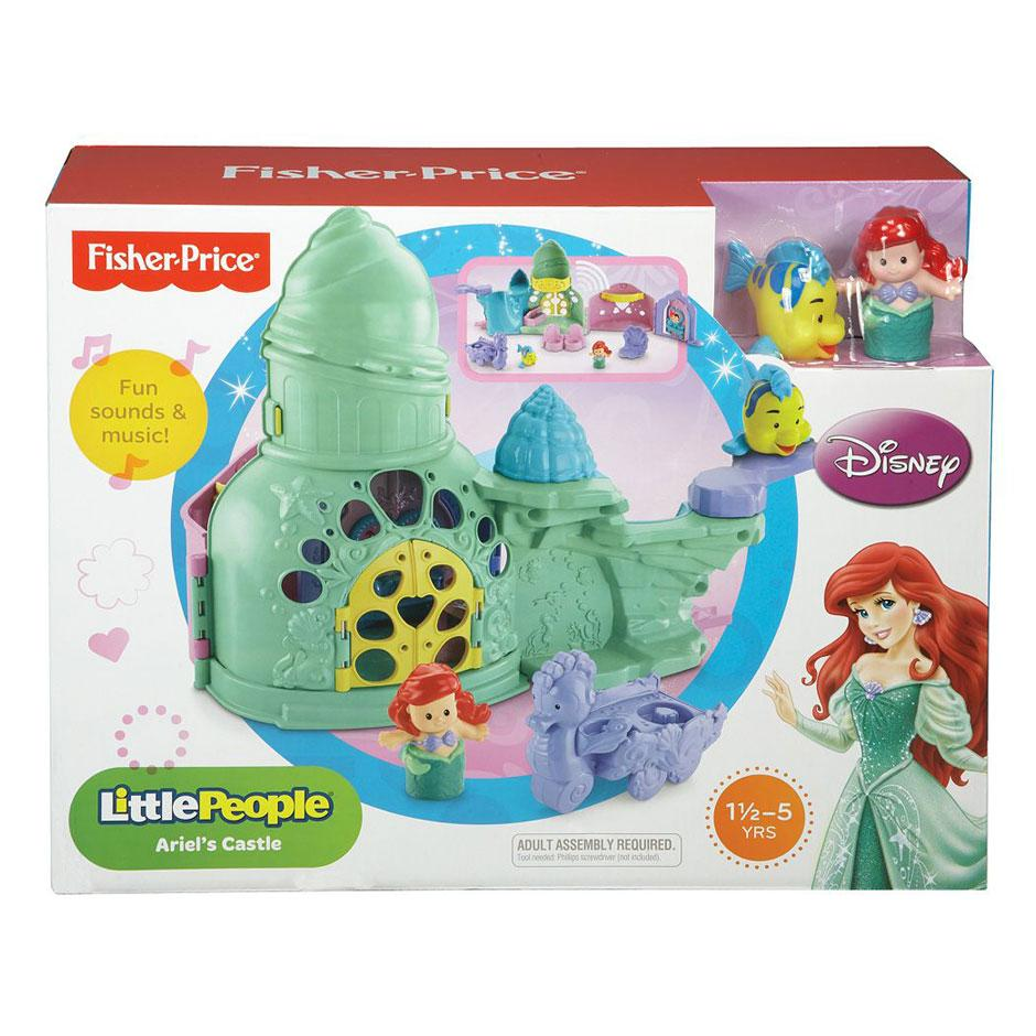 sold out little people ariel s castle samko and miko toy warehouse