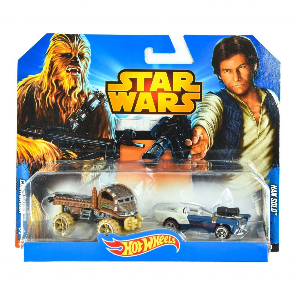 hot wheels star wars han solo and chewbacca
