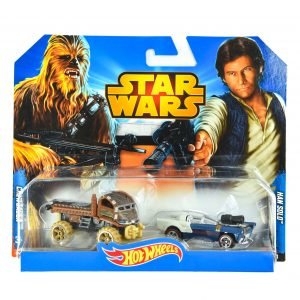 Hot Wheels Star Wars Han Solo & Chewbacca