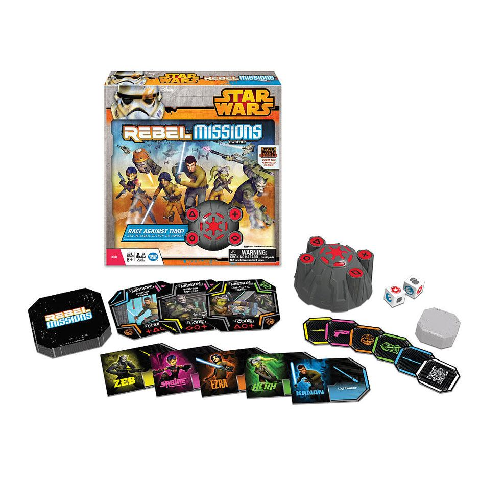 Star Wars Toy Game : Star wars rebel missions game samko and miko toy warehouse
