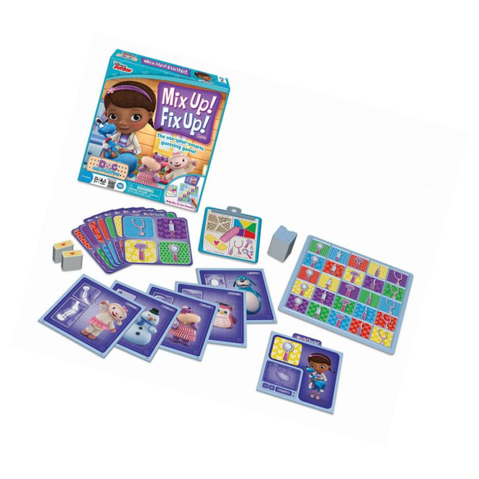 Doc McStuffins Mix Up Fix Up Game Samko And Miko Toy Warehouse - Doc games