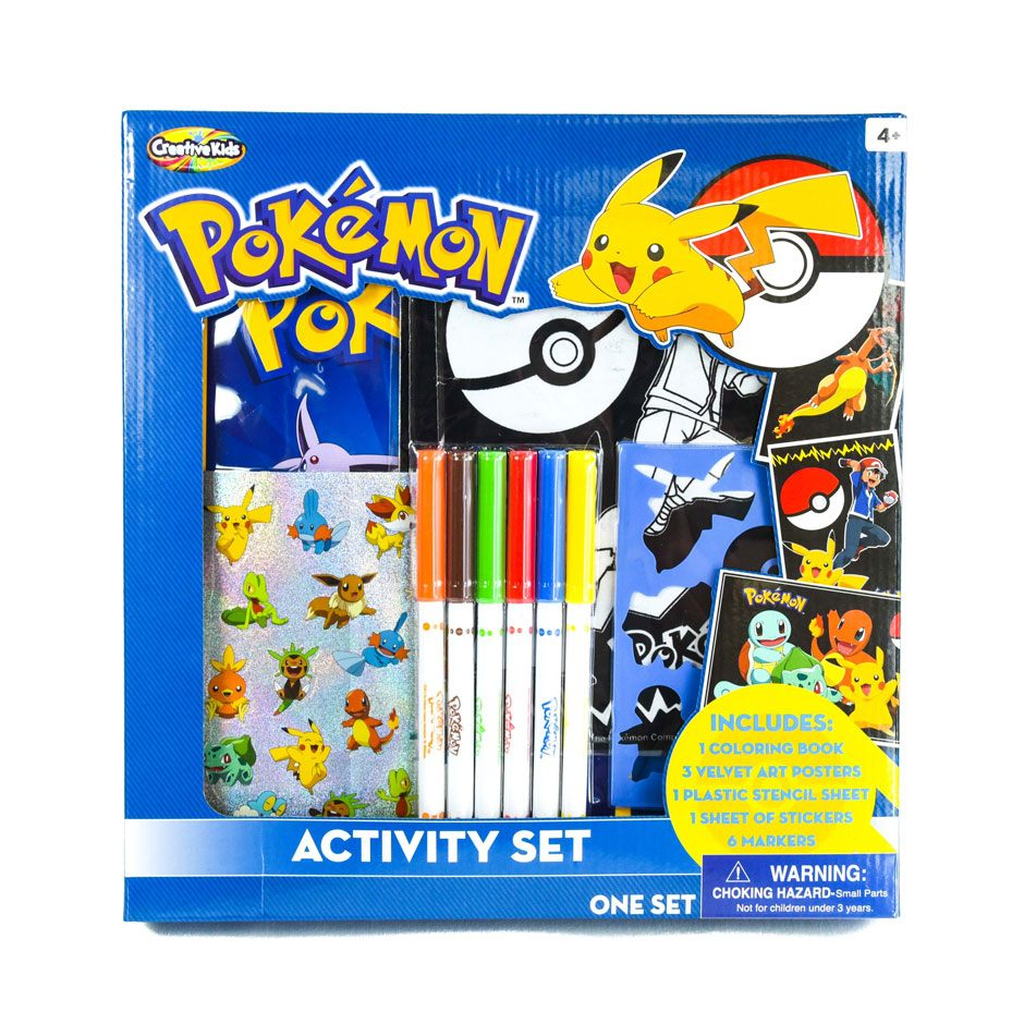 Pokemon Activity Set