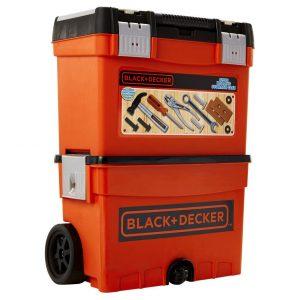 BLACK & DECKER ROLLING STORAGE CASE 14PC
