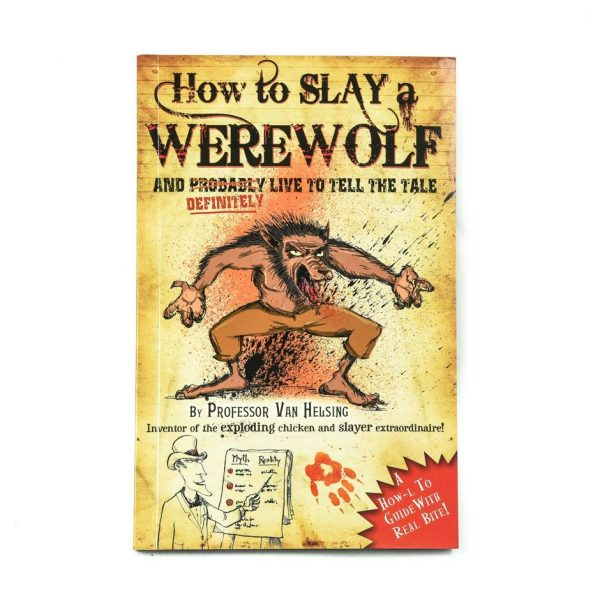 How to Slay a Werewolf Book