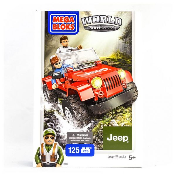 Mega Bloks World Builders Jeep