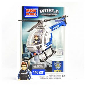 Mega Bloks World Builders NYPD Helicopter