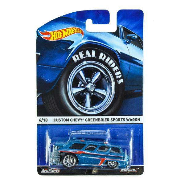 Hot Wheels Custom Chevy - Greenbrier Sports Wagon