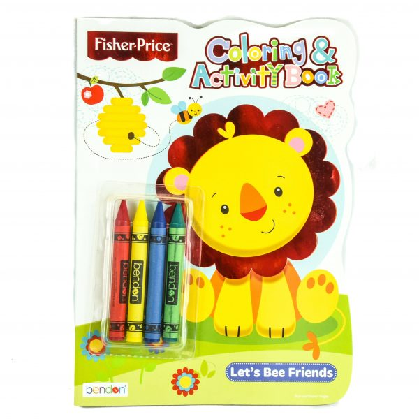 Fisher-Price Coloring and Activity Book