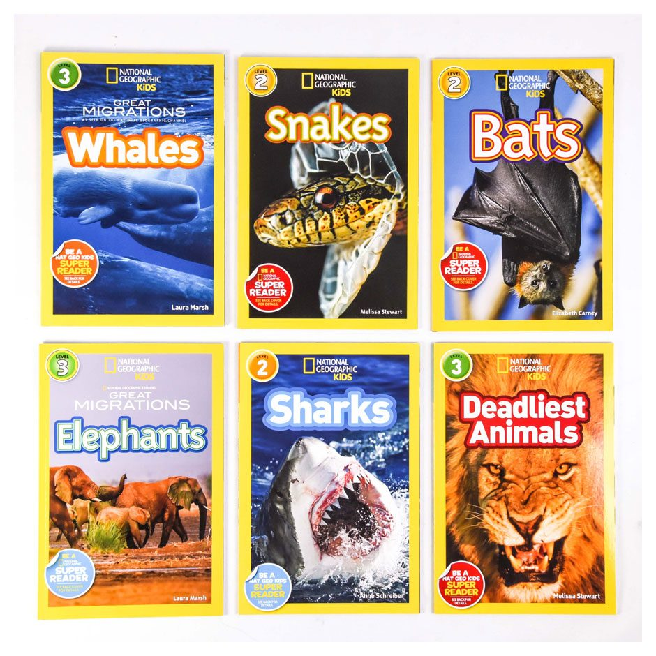 National Geographic Kids 6pc. Set Lvl 2/3