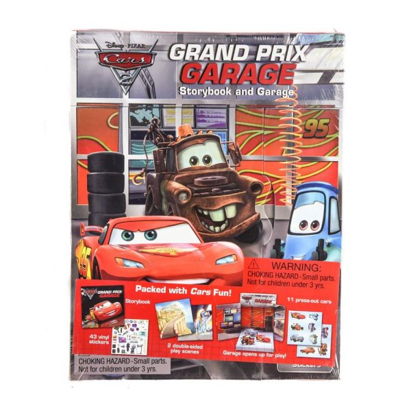 Cars Grand Prix Garage Storybook