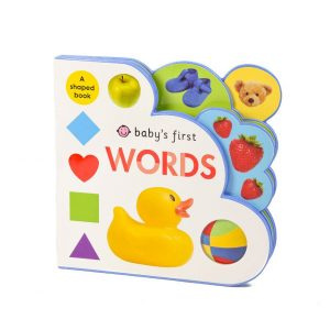 Baby's First Words A Shaped Book