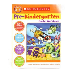 Pre-Kindergarten Jumbo Workbook Ages 3-4