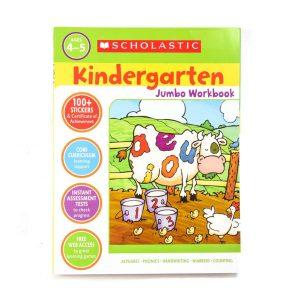 KIndergarten Jumbo Workbook Age 4-5