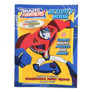 Transformers Activity Book w/Stickers