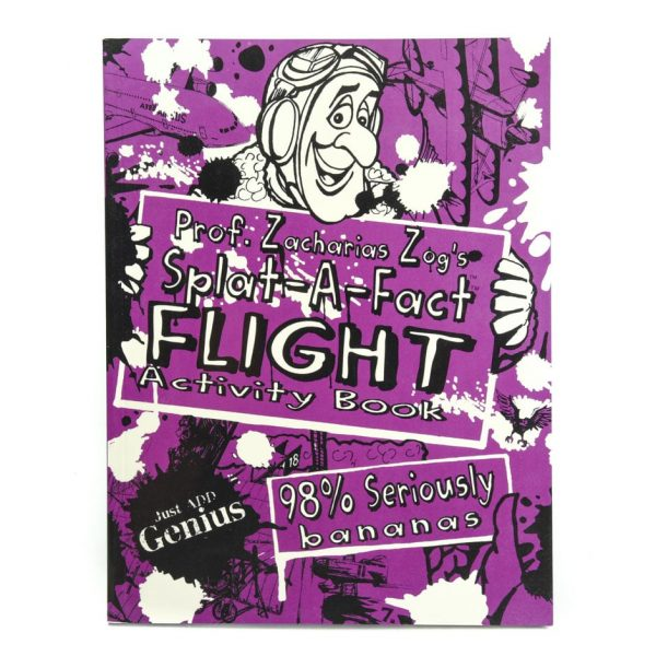 Prof. Zacharias Zog's Splat-A-Fact Flight Activity Book