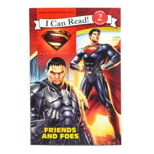 I Can Read: Friends and Foes - Man of Steel