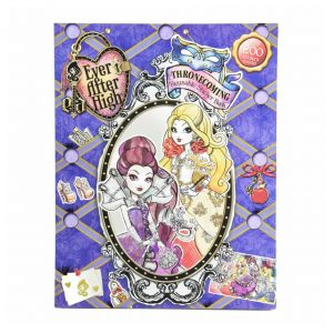 Ever After High Thronecoming Reusable Sticker Book