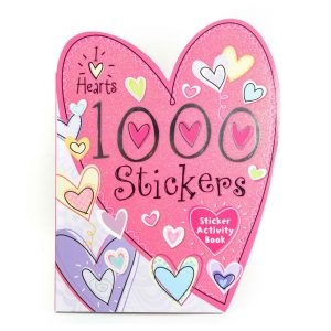 "1000 Stickers I ""Heart"" Stickers"