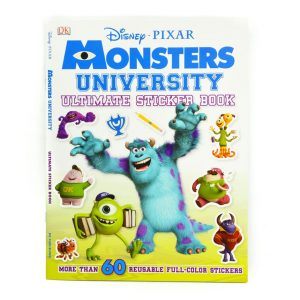 Monsters University Ultimate Sticker Book