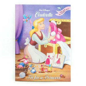 Cinderella: Fit for a Princess & Wedding Bells Book