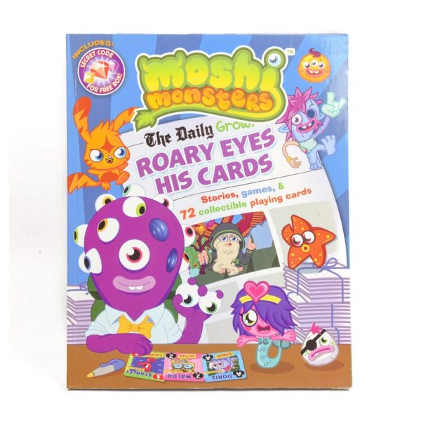 Moshi Monsters: Roary Eyes His Cards