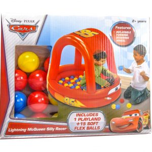 Disney Cars Lighting McQueen Inflatable Playset