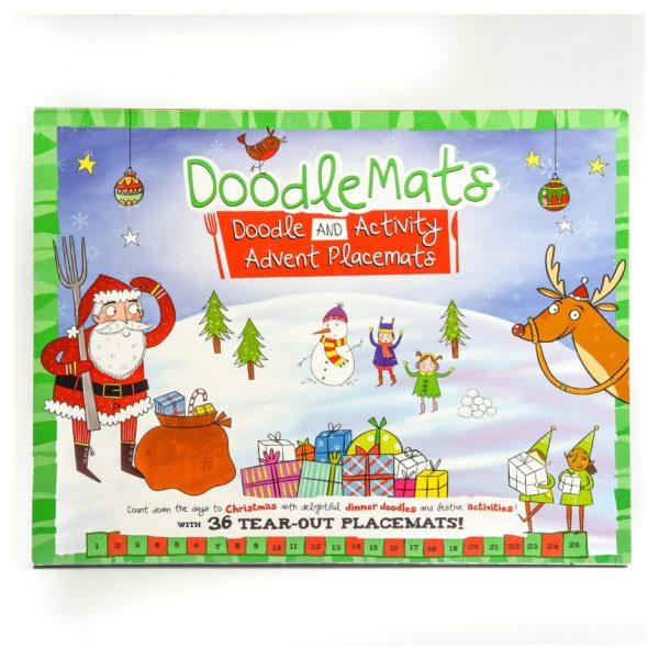 Doodle Mats Advent Placemats