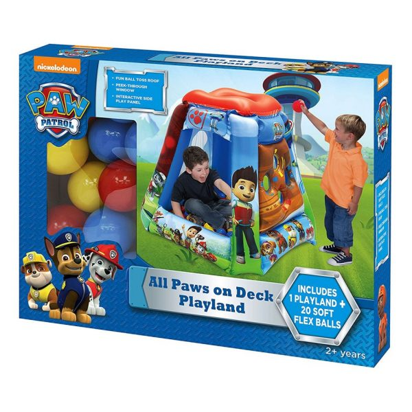 Paw Patrol: All Paws on Deck Playland with 20 Balls