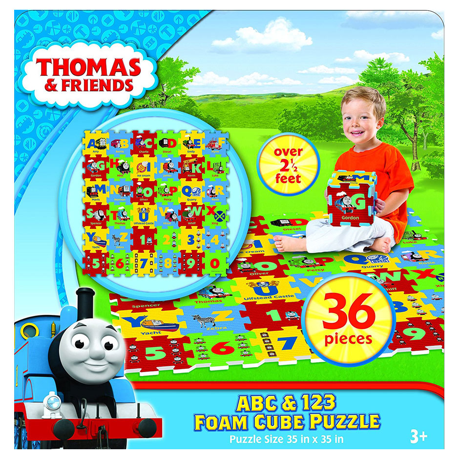 Thomas ABC & 123 Foam Cube Floor Puzzle