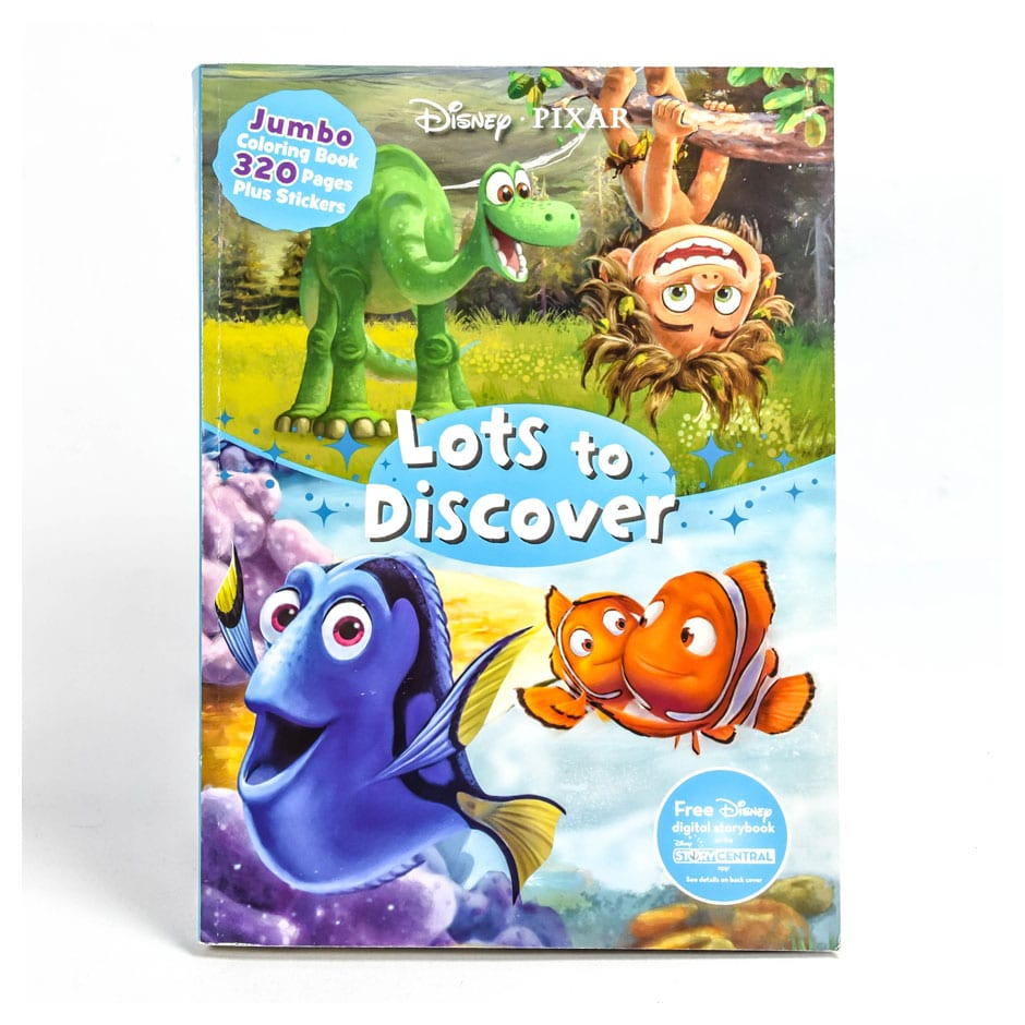 lots to discover jumbo coloring book