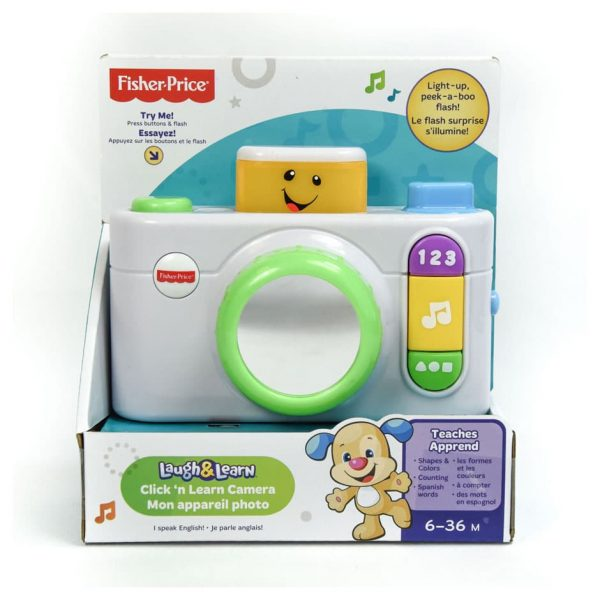 Fisher-Price Click 'n Learn Camera
