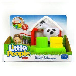 Little People Dairy Barn Playset