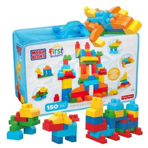 Deluxe Building Bag 150 piece Mega Bloks Set