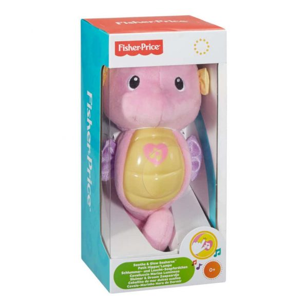 Fisher-Price Soothe & Glow Seahorse: Pink