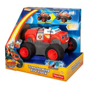 Blaze and the Monster Machines: Transforming Fire Truck