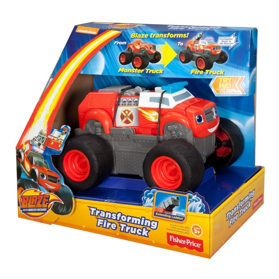 blaze and the monster machines transforming fire truck samko and