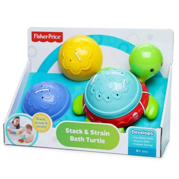 Stack & Strain Bath Turtle