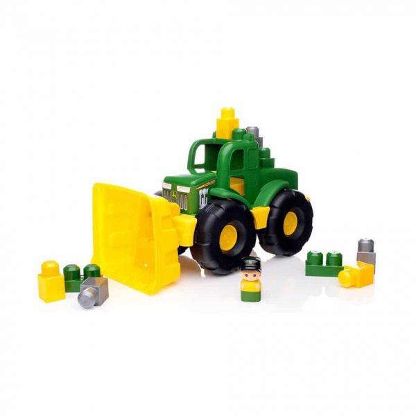 John Deere Transforming Tractor  11 Piece Mega Bloks Set