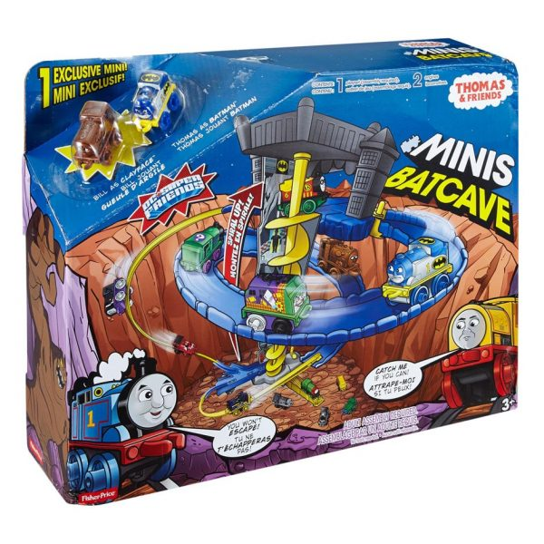 Thomas & Friends Minis Batcave Playset