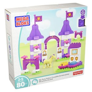My Pony Palace 80 Piece Mega Bloks Set