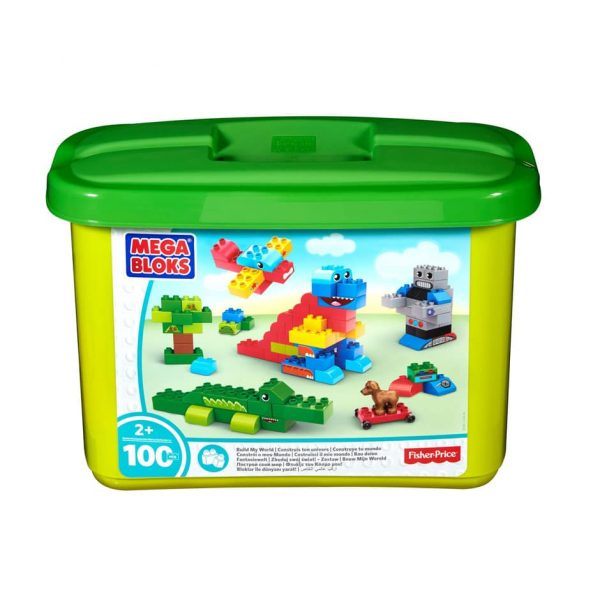 Build My World 100 Piece Mega Bloks Set