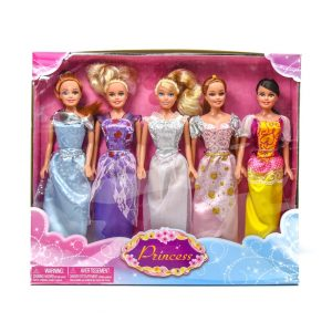 Princess Dolls 5 Pack