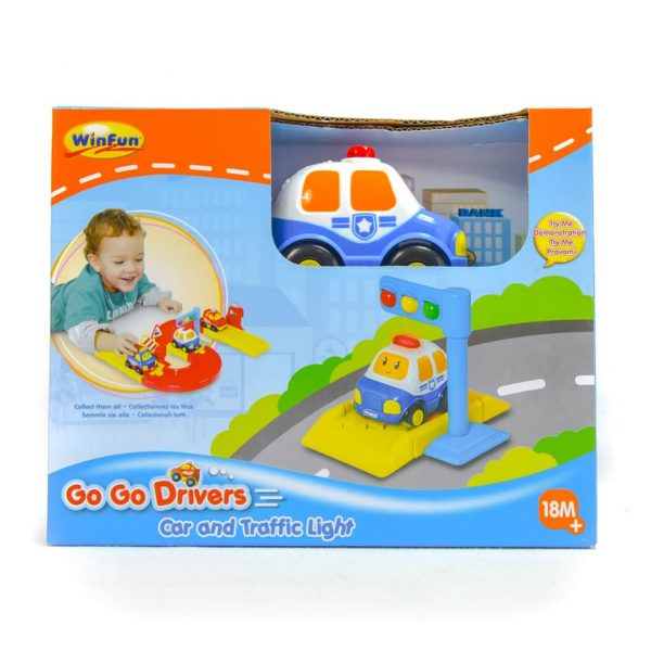 Go Go Drivers Car and Traffic Light
