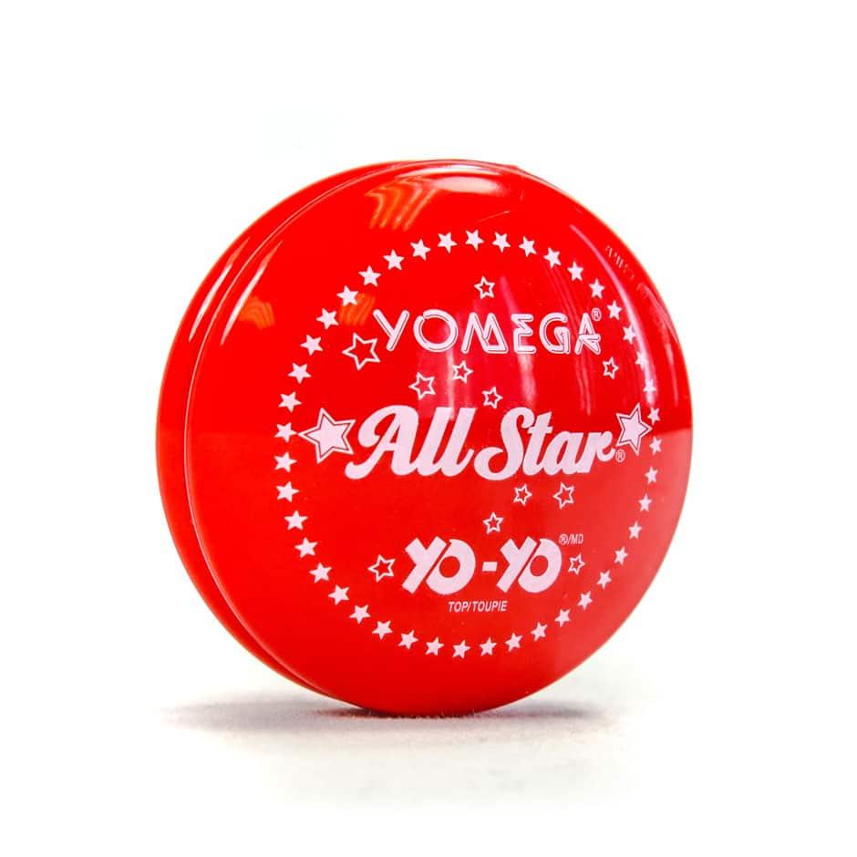 Yomega All Star Classic Red Yo Yo Samko And Miko Toy Warehouse