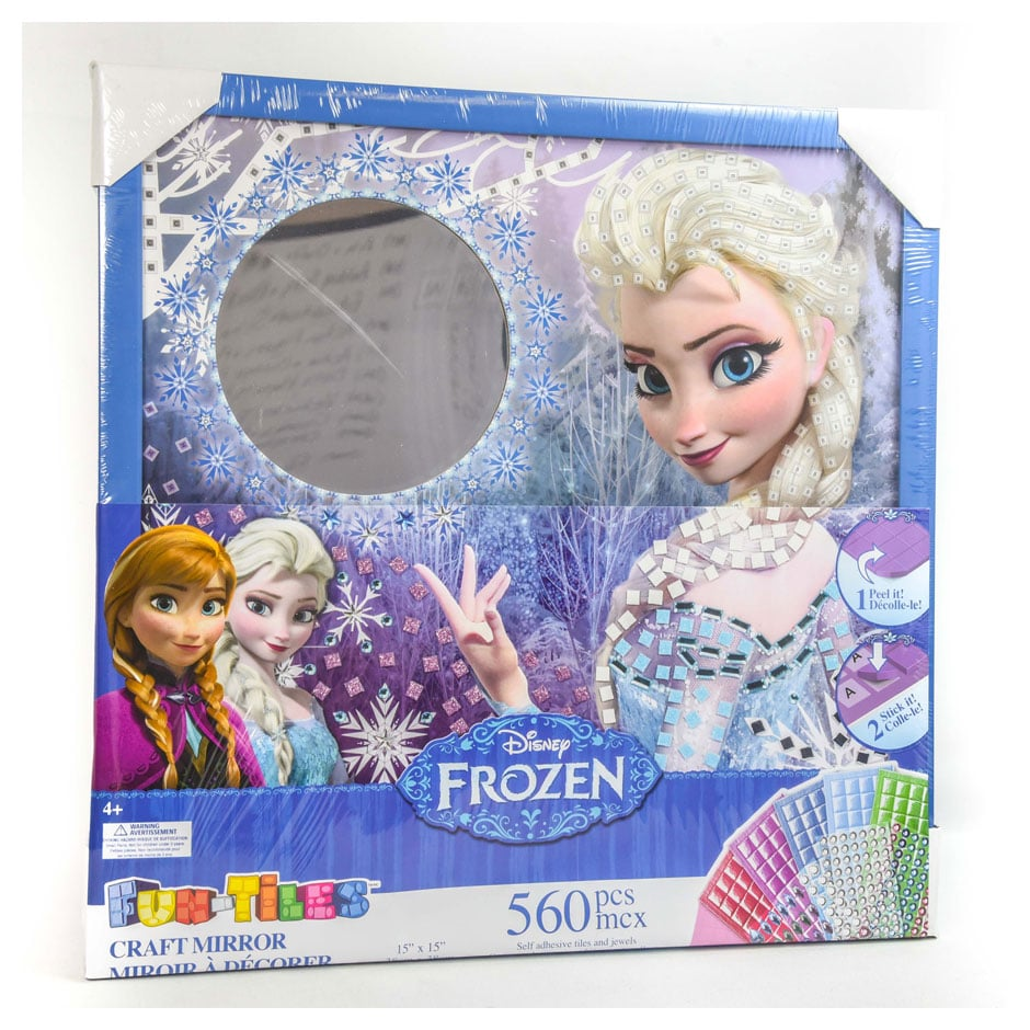 Frozen Fun Tiles Craft Mirror