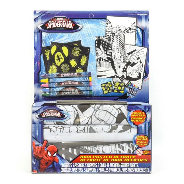 Spiderman Mini Poster Activity Set