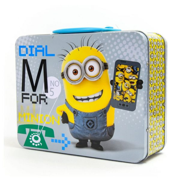 Minions 48 Piece Puzzle in a Lunch Box Tin