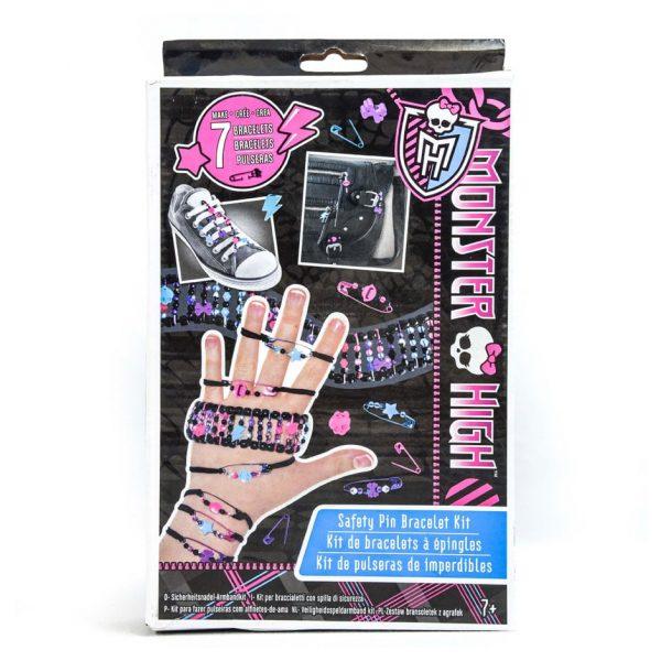 Monster High Safety Pin Bracelet Kit